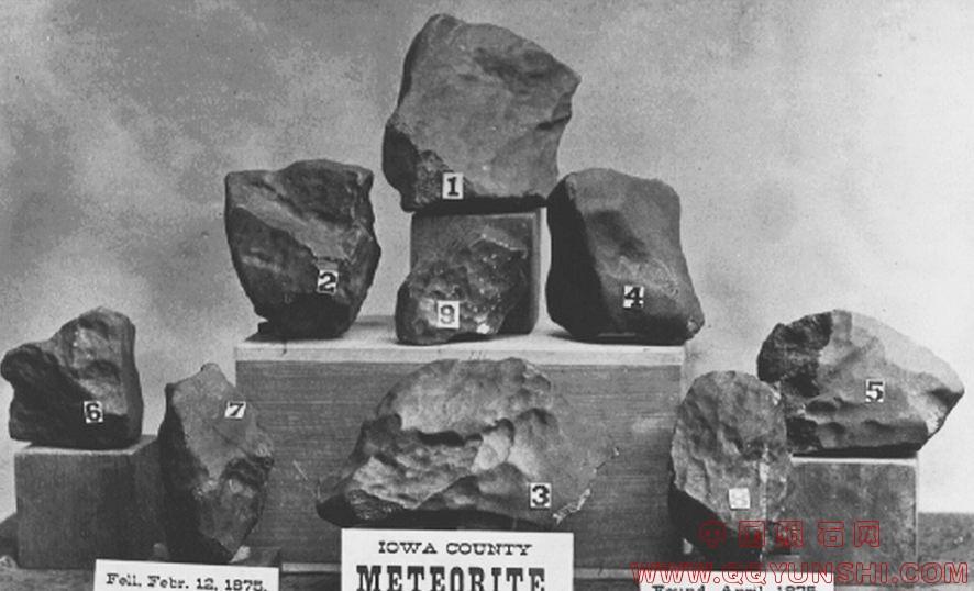 历史照片的宅基地石-有历史记载的陨石 中图片
